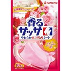 KINCHO 香るサッサ やわらかホコリ取りクロス フルーツフローラルの香り ( 10枚入 )/ サッサ