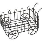 プランターラック フラワーラック ガーデニング 園芸 荷車 ( 1コ入 )
