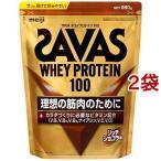 ザバス ホエイプロテイン100 リッチショコラ味 ( 1050g(約50食分)*2袋セット )/ ザバス(SAVAS)