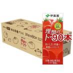 伊藤園 理想のトマト 30日分BOX 紙パック ( 200ml*90本セット )