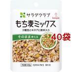 サラダクラブ もち麦ミックス 3種豆とキヌアと黒米入り ( 40g*40袋セット )/ サラダクラブ