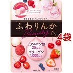 クラシエ ふわりんかビューティー フルーティーローズ味 ( 60g*4袋セット )/ ふわりんか