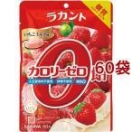 ラカント カロリーゼロ飴 いちごミルク味 ( 60g*60袋セット )/ ラカント
