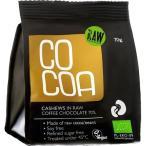 COCOA オーガニックローチョコレート・カシューナッツスナックパック ( 70g )/ COCOA ( バレンタイン 義理チョコ )