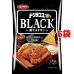 湖池屋 ドンタコスBLACK 黒マヨチキン ( 58g*6コセット )/ 湖池屋(コイケヤ)
