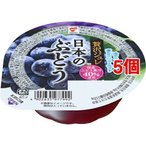 たいまつ 贅沢ジュレ 日本のぶどう ( 130g*5個セット )