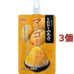 井村屋 こだわりの氷みつ マンゴー ( 4-6杯分*3個セット )/ 井村屋 ( かき氷シロップ )