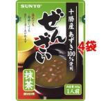 サンヨー 抹茶ぜんざい ( 160g*4袋セット )