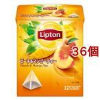 リプトン ピーチ&マンゴー ティーバッグ ( 12包*36個セット )/ リプトン(Lipton)