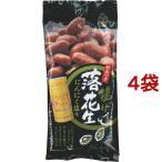 揚げ落花生 にんにく塩味 ( 60g*4袋セット )