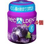 リカルデント グレープミントガム ボトル ( 140g*4個セット )/ リカルデント(Recaldent)