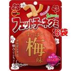 ブルボン フェットチーネグミ すっぱい梅味 ( 50g*6袋セット )