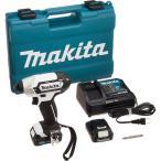 マキタ 充電式インパクトドライバ 白 TD110DSHXW ( 1セット )/ マキタ