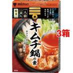 ミツカン キムチ鍋の素 ( 19g*2袋入*3箱セット )