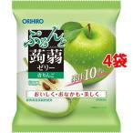 ぷるんと蒟蒻ゼリー パウチ 青りんご ( 20g*6個入*4袋セット )/ ぷるんと蒟蒻ゼリー