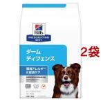 ヒルズ プリスクリプション・ダイエット ドッグフード ダームディフェンス 犬用 ( 3kg*2袋セット )/ ヒルズ プリスクリプション・ダイエット