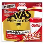 (企画品)ザバス ホエイプロテイン100 ココア味 ザバス プロテインシェーカー付 ( 1セット )/ ザバス(SAVAS)