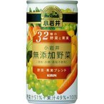 小岩井 無添加野菜 32種の野菜と果実 ( 190g*30本入 )
