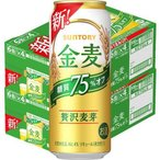 サントリー 金麦 糖質75%オフ ( 500ml*48本 )/ 金麦 ( 新ジャンル・ビール )