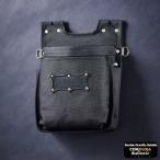 ニックス バリスティック生地2段腰袋 ブラックワッペン BA-201BB KNICKS BA201BB