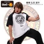 新日本プロレス×SOUL SPORTSコラボ ラグランTシャツ ブラック