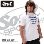 SOUL SPORTSオリジナル Soul4連ロゴTシャツ ホワイト