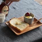 レクタングルディッシュ ナチュラル アカシアウッド 日用雑貨 キッチン用品 木製食器 皿 天然木 北欧 プレート 和食器 洋食器 テーブルウェア//返品 交換不可