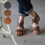 サンダル シューズ シンプル フェミニン レディース 靴 グラディエーター  soulberryオリジナル