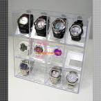 錶盒 - 腕時計ケース 収納 12本 透明 アクリル ウォッチコレクションラック