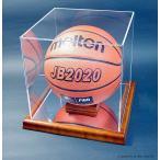 バスケットボール5号球用コレクションケース・木製/UVカット