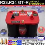 レッドトップ R33、R34 GT-R 寒冷地仕様車用セット 1050S-L / RT R4.2L / 8003-251 オプティマ バッテリー