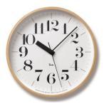 WR07-11 リキクロック RIKI CLOCK RC 電波時計 渡辺力 RIKI WATANABE タカタレムノス 掛け時計 TAKATA Lemnos  おしゃれ デザイナーズ ブランド シンプル