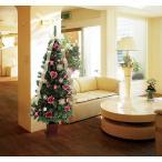 ショッピングクリスマスツリー クリスマスツリー ジュエルローズ&ゴールドツリー 180cm