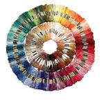たっぷり 刺繍糸 8メートル 100色 セット クロスステッチ まとめ買い (100色)