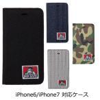 ベンデイビス【BEN DAVIS】スマホケース 手帳型 iPhone6 iPhone7 bdw907...