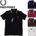 FRED PERRY フレッドペリー M12 ORIGINAL TWIN TIPPED SHIRT ライン入り半袖ポロシャツ 英国製 MADE IN ENGLAND ラッピング不可