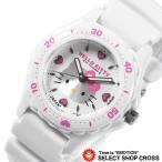 腕時計 Q&Q ハローキティ 日本製 ホワイト 0027N001