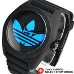 ショッピングアディダス アディダス オリジナル adidas originals 腕時計 SANTIAGO サンティアゴ ブラック ブルー ADH2877