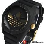 アディダス adidas 腕時計 サンティアゴ 黒/金 ADH2912 セール