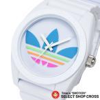 アディダス adidas 腕時計 SANTIAGO サンティアゴ ホワイト×マルチ ADH2916