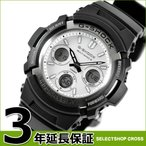 カシオ Gショック メンズ 腕時計 AWG-M100S-7ADR ブラック系
