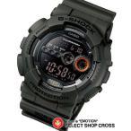 ショッピングカシオ カシオ Gショック gショック ジーショック GD-100MS-3DR ミリタリーテイスト 高輝度LED CASIO G-SHOCK g-shock グリーン