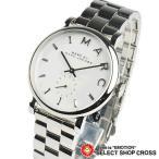 ショッピングMARC マーク バイ マークジェイコブス レディース 腕時計 アナログ Baker ベイカー MBM3242 ホワイト×シルバー