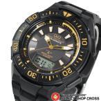 CITIZEN シチズン Q&Q 腕時計 電波ソーラー 黒/金 MD06-312