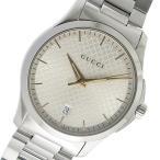 グッチ GUCCI Gタイムレス クオーツ メンズ 腕時計 YA1264052 シルバー