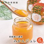 早和果樹園 味一ジュレ  150g×6個入り 【送料無料】 内祝 高級 フルーツゼリー  みかんゼリー