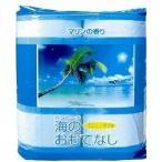 海のおもてなし4ロール トイレットペーパー(マリンの香り) 30個単位でのご注文でお願いします。まとめ割 販促品 ノベルティ 粗品