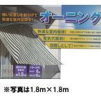 フジ オーニング90cm×180cm・ストライプグリーン