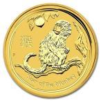純金 コイン 金貨 24金 干支 金貨 申 猿 1/20オンス 2016年 オーストラリアパース造幣局発行 クリアケース付