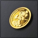 ��� �ǥ����ˡ��ߥå����ޥ������(��ͷ��) 1/20���� K24 gold coin Disney Micky Mouse